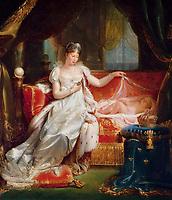 L'Imp&Egrave;ratrice Marie-Louise veillant sur le sommeil du roi de Rome<br /> Franque Joseph (1774-1833)<br /> Versailles, ch&sbquo;teaux de Versailles et de Trianon