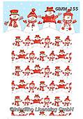 Kate, CHRISTMAS SANTA, SNOWMAN, WEIHNACHTSMÄNNER, SCHNEEMÄNNER, PAPÁ NOEL, MUÑECOS DE NIEVE, paintings+++++Christmas page 44,GBKM155,#x#