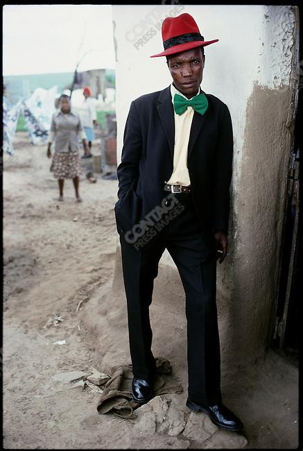 Xhosa man. Transkei, South Africa, October 1976.