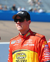Apr 17, 2009; Avondale, AZ, USA; NASCAR Nationwide Series driver Michael Annett during qualifying prior to the Bashas Supermarkets 200 at Phoenix International Raceway. Mandatory Credit: Mark J. Rebilas-