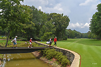 Wichanee Meechai (THA) and Ceilia Barquin Arozamena (a)(ESP) make their way to the tee on 11 during round 2 of the U.S. Women's Open Championship, Shoal Creek Country Club, at Birmingham, Alabama, USA. 6/1/2018.<br /> Picture: Golffile | Ken Murray<br /> <br /> All photo usage must carry mandatory copyright credit (© Golffile | Ken Murray)