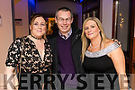 Caroline, Anthony and Geraldine Donnelly, Kerins Park, Tralee, pictured at the Kerins Park 50th anniversary social held at The Rose Hotel, Tralee, on Saturday night last.