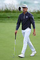 Rafael Cabrera Bello (ESP) after sinking his putt on 9 during round 3 of the 2019 US Open, Pebble Beach Golf Links, Monterrey, California, USA. 6/15/2019.<br /> Picture: Golffile | Ken Murray<br /> <br /> All photo usage must carry mandatory copyright credit (© Golffile | Ken Murray)