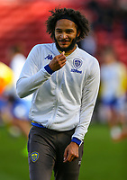 Leeds United's Izzy Brown warms up<br /> <br /> Photographer Alex Dodd/CameraSport<br /> <br /> The EFL Sky Bet Championship - Middlesbrough v Leeds United - Saturday 9th February 2019 - Riverside Stadium - Middlesbrough<br /> <br /> World Copyright © 2019 CameraSport. All rights reserved. 43 Linden Ave. Countesthorpe. Leicester. England. LE8 5PG - Tel: +44 (0) 116 277 4147 - admin@camerasport.com - www.camerasport.com