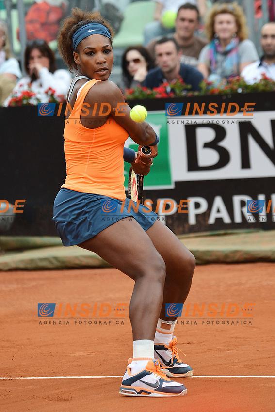 Serena Williams United States .Roma 16/05/2013 Foro Italico .Tennis Internazionali d'Italia 2013 .Foto Andrea Staccioli Insidefoto