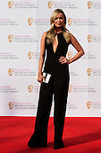 London, UK. 8 May 2016. Laura Whitmore. Red carpet  celebrity arrivals for the House Of Fraser British Academy Television Awards at the Royal Festival Hall.