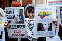 16.03.2015 - Julian Assange Marks 1000 Days in the Ecuadorian Embassy