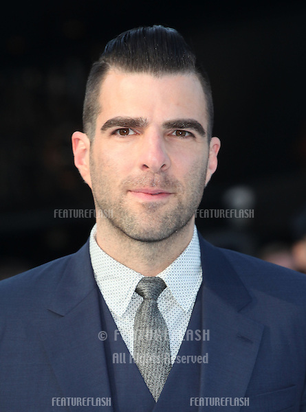 Zachary Quinto arriving for the UK premiere of 'Star Trek Into Darkness' at The Empire Cinema, London. 02/05/2013 Picture by: Alexandra Glen / Featureflash
