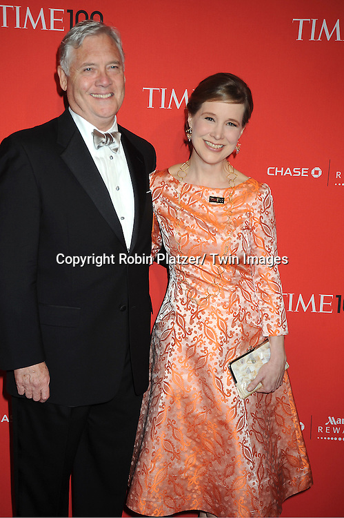 Ann Patchett and guest attends The Time 100 Most Influential People in the World Gala on April 24, 2012 at Frederick P Rose Hall at Lincoln Center in New York City. .