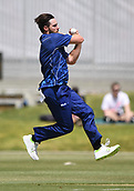 6th December 2017, Eden Park, Auckland, New Zealand; Ford Trophy One Day Cricket, Auckland Aces versus Canterbury Wizards;  Mitchell McClenaghan bowling