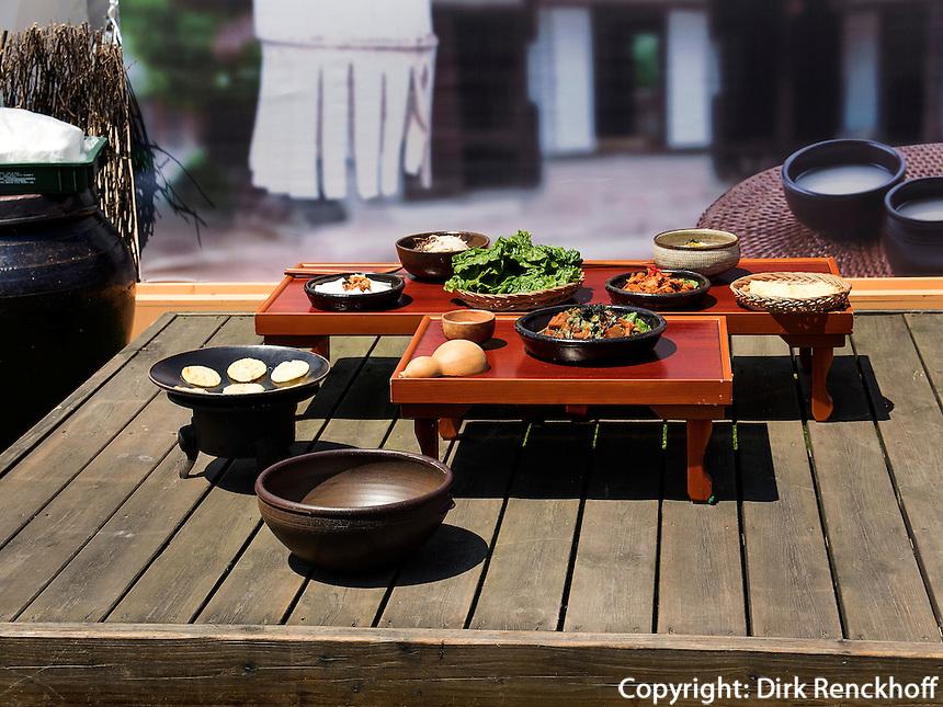 Traditionelle koreanische Speisen, Seoul, S&uuml;dkorea, Asien<br /> Traditional Korean cuisine, Seoul, South Korea, Asia