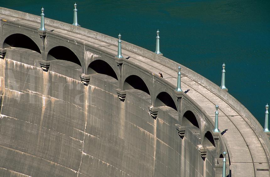 The Diablo Dam. Washington.
