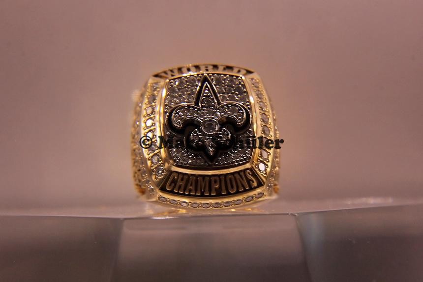 Super Bowl Ringe der einzelnen Siegerteams: XLIV New Orleans Saints 2009