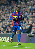 2nd December 2017, The Hawthorns, West Bromwich, England; EPL Premier League football, West Bromwich Albion versus Crystal Palace; Jeffery Schupp of Crystal Palace running with the ball to take a throw in