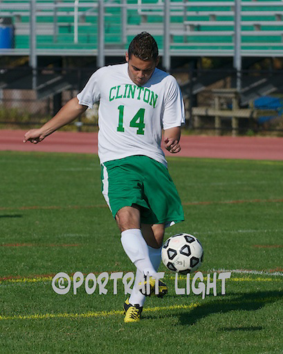 CHS senior captain Erick Barbosa.