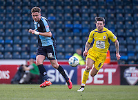 Danny Rowe of Wycombe Wanderers during the Sky Bet League 2 match between Wycombe Wanderers and Accrington Stanley at Adams Park, High Wycombe, England on the 30th April 2016. Photo by Liam McAvoy / PRiME Media Images.