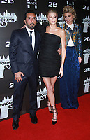 NEW YORK, NY February 07, 2018:Danny A. Abeckaser, Charlotte McKinney, AnnaLynne McCord attend the New York premere of First We Take Brooklyn hosted by 28 Flims and Danny A. Abeckaser at Regal Battery Park in New York. February 07, 2018. <br /> CAP/MPI/RW<br /> &copy;RW/MPI/Capital Pictures