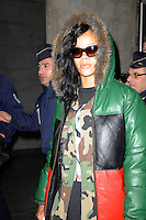 November 17th 2012..singer Rihanna arriving at Paris Roissy Charles de Gaulle airport...****** BYLINE MUST READ : © Spread Pictures ******..****** No Web Usage before agreement ******..****** Stricly No Mobile Phone Application or Apps Use Without our Prior Agreement ******..Enquiries at photo@spreadpictures.com
