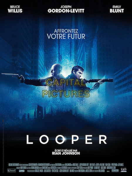 POSTER ART<br /> in Looper (2012) <br /> *Filmstill - Editorial Use Only*<br /> CAP/NFS<br /> Image supplied by Capital Pictures