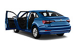 Car images close up view of a 2019 Volkswagen Jetta S 4 Door Sedan doors