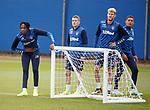 18.09.2019 Rangers training: Joe Aribo, Steven Davis, Filip Helander and James Tavernier
