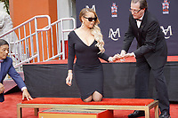 LOS ANGELES - NOV 1:  Mariah Carey at the Mariah Carey Hand and Footprint Ceremony at the TCL Chinese Theater IMAX on November 1, 2017 in Los Angeles, CA