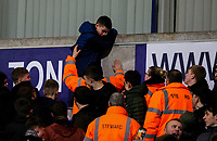 Bolton Wanderers fans protest against owner Ken Anderson during the match<br /> <br /> Photographer Alex Dodd/CameraSport<br /> <br /> The EFL Sky Bet Championship - Bolton Wanderers v West Bromwich Albion - Monday 21st January 2019 - University of Bolton Stadium - Bolton<br /> <br /> World Copyright © 2019 CameraSport. All rights reserved. 43 Linden Ave. Countesthorpe. Leicester. England. LE8 5PG - Tel: +44 (0) 116 277 4147 - admin@camerasport.com - www.camerasport.com