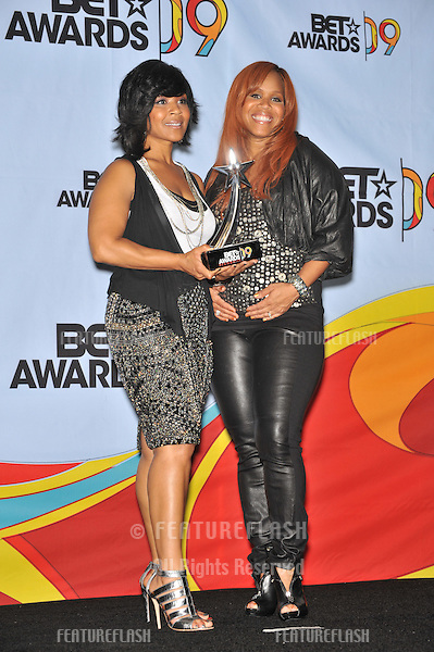 Mary Mary at the 2009 BET Awards (Black Entertainment Television) at the Shrine Auditorium..June 28, 2009  Los Angeles, CA.Picture: Paul Smith / Featureflash