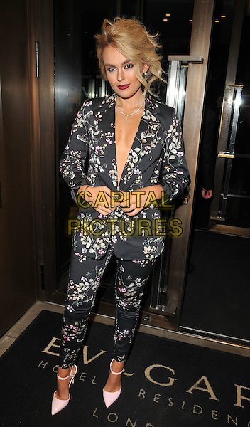 Tallia Storm at the Glass Magazine 7th Anniversary Dinner, Bulgari Hotel, Knightsbridge, London, England, UK, on Wednesday 25 January 2017.<br /> CAP/CAN<br /> &copy;CAN/Capital Pictures