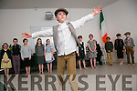Art and History Awards at a Special Ceremony to mark the Commemoration of 1916 at The Education Centre, Dromtacker on Monday. Ardfert NS with a performance depicting the 1916 Rising