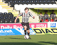 Kieran Doran in the St Mirren v Falkirk Clydesdale Bank Scottish Premier League Under 20 match played at St Mirren Park, Paisley on 30.4.13.
