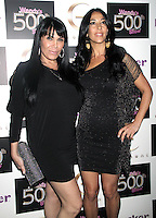 May 24, 2012 Renee Graziano, Carla Facciolo attend the celebration of   Wendy Williams 500th show party  at Elernent  in New York City.Credit:© RW/MediaPunch Inc.