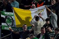 A Vatican flag of Celtic supporters <br /> Roma 7-11-2019 Stadio Olimpico <br /> Football Europa League 2019/2020 <br /> SS Lazio - Celtic <br /> Photo Andrea Staccioli / Insidefoto