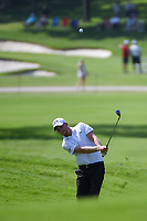Daniel Berger (USA) chips on to 2 during round 2 of the 2019 Charles Schwab Challenge, Colonial Country Club, Ft. Worth, Texas,  USA. 5/24/2019.<br /> Picture: Golffile   Ken Murray<br /> <br /> All photo usage must carry mandatory copyright credit (© Golffile   Ken Murray)