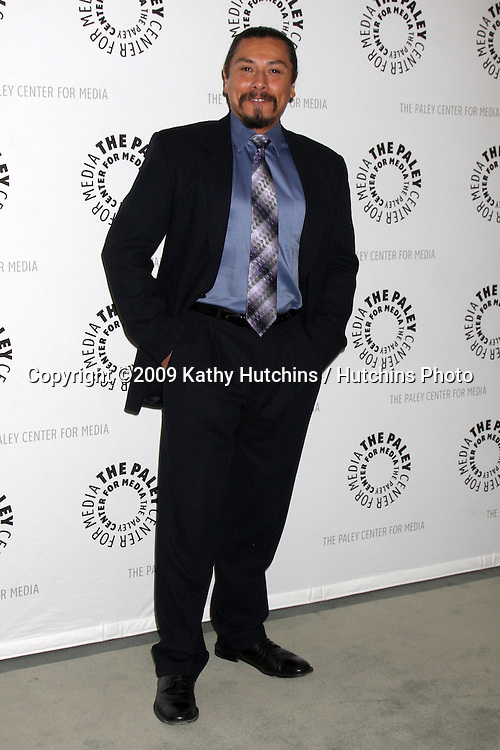 """Gregory Cruz  arriving at the """"Saving Grace"""" Event at the Paley Center for Media in Beverly Hills , CA on June 13, 2009.  .©2009 Kathy Hutchins / Hutchins Photo"""