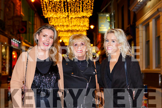 Colette, Theresa and Monica Cregan enjoying New Years Eve in Killarney