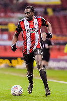 Sheffield United's forward Clayton Donaldson (11) during the Sky Bet Championship match between Sheff United and Cardiff City at Bramall Lane, Sheffield, England on 2 April 2018. Photo by Stephen Buckley / PRiME Media Images.