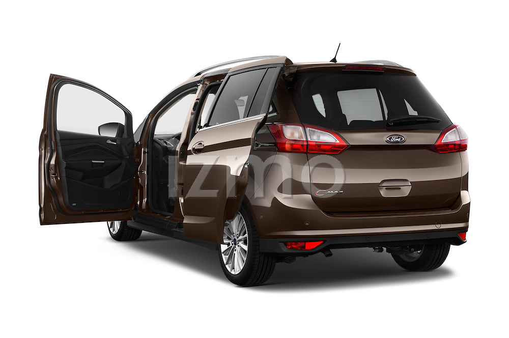 Car images of 2015 Ford Grand C-Max Titanium 5 Door Mini Mpv Doors