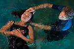 Watsu (water shiatsu) master Michael Hollock offers therapy at Fivelements in a dedicated warm water pool.