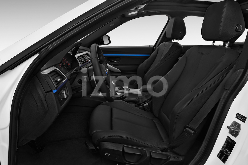 Front seat view of a 2015 BMW 3 Series M Sport 5 Door Hatchback 2WD Front Seat car photos