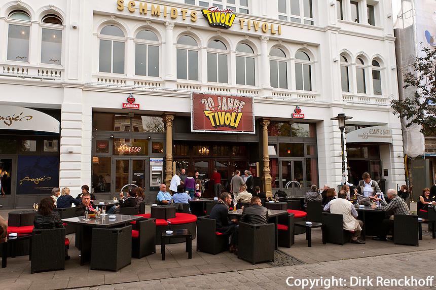 Schmidt's Tivoli auf der Reeperbahn auf der Reeperbahn in Hamburg St.Pauli, Deutschland