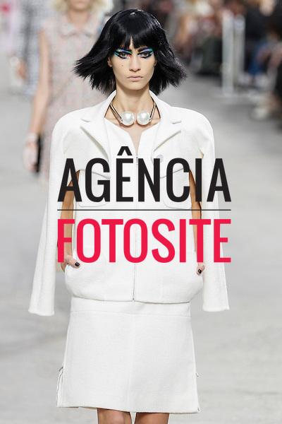 Paris, Franca &sbquo;02/10/2013 - Desfile de Chanel durante a Semana de moda de Paris  -  Verao 2014. <br /> Foto: FOTOSITE