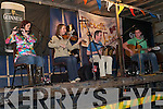 Family for Fleadh: Enjoying the traditional music entertainment in the Square, Abbeyfeale, at Fleadh by the Feale on Saturday evening