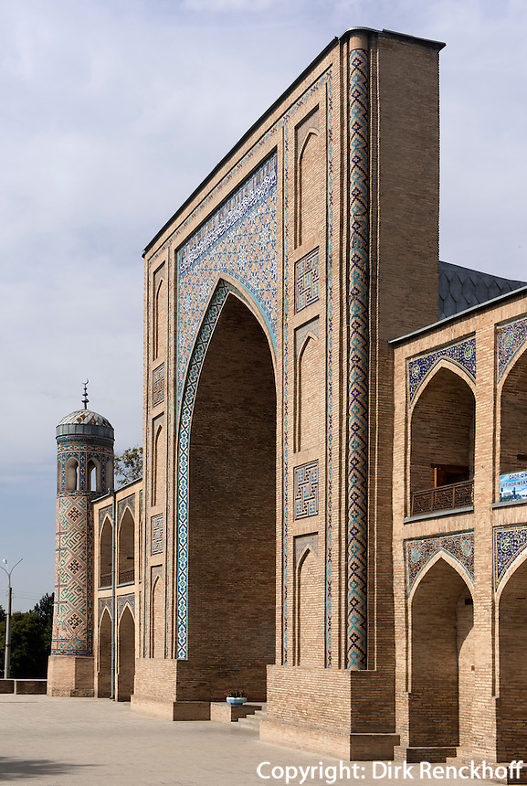 Kokaldosh-Medrese, Taschkent, Usbekistan, Asien<br /> Kokaldosh madrassa, Tashkent, Uzbekistan, Asia