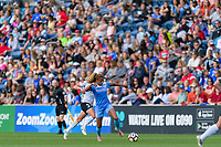 Bridgeview, IL - Sunday June 25, 2017: Casey Short during a regular season National Women's Soccer League (NWSL) match between the Chicago Red Stars and Sky Blue FC at Toyota Park. The Red Stars won 2-1.
