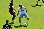 Waldhofs Valmir Sulejmani (Nr.9) am Ball beim Spiel in der 3. Liga, SV Waldhof Mannheim - KFC Uerdingen 05.<br /> <br /> Foto © PIX-Sportfotos *** Foto ist honorarpflichtig! *** Auf Anfrage in hoeherer Qualitaet/Aufloesung. Belegexemplar erbeten. Veroeffentlichung ausschliesslich fuer journalistisch-publizistische Zwecke. For editorial use only. DFL regulations prohibit any use of photographs as image sequences and/or quasi-video.