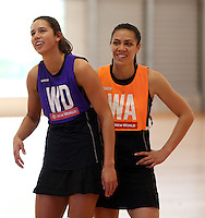 Silver Ferns Training 141014