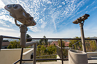 Binoculars behind Stewart-Cleland (Stewie) Photo taken Jan. 2, 2018.<br /> (Marc Campos/Occidental College)