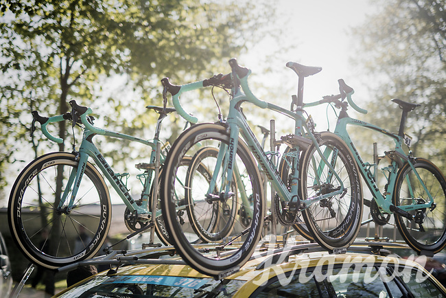 Team LottoNL-Jumbo's Bianchi's ready for Roubaix<br /> <br /> 115th Paris-Roubaix 2017 (1.UWT)<br /> One Day Race: Compi&egrave;gne &rsaquo; Roubaix (257km)