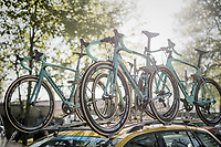 Team LottoNL-Jumbo's Bianchi's ready for Roubaix<br /> <br /> 115th Paris-Roubaix 2017 (1.UWT)<br /> One Day Race: Compiègne › Roubaix (257km)